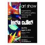 invitación de la galería de arte