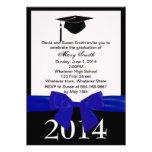 Invitación de la graduación de Blue Ribbon