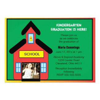 Invitación de la graduación de la escuela