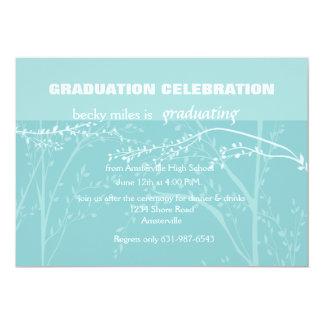Invitación de la graduación de las ramas