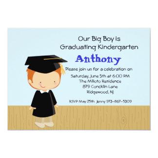 Invitación de la graduación de nuestro muchacho