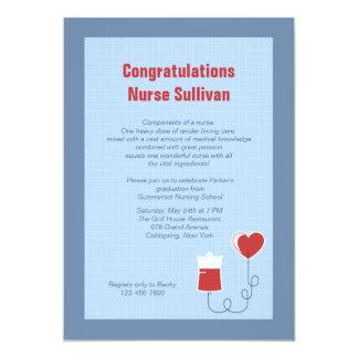 Invitación de la graduación del centro médico