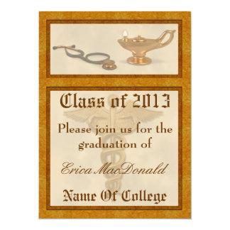 Invitación de la graduación del oficio de