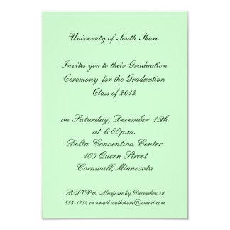 Invitación de la graduación para 2013 invitación 8,9 x 12,7 cm