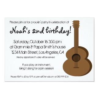 Invitación de la guitarra