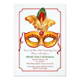 Invitación de la máscara #10 del carnaval