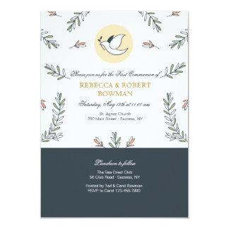 Invitación de la paloma de la comunión