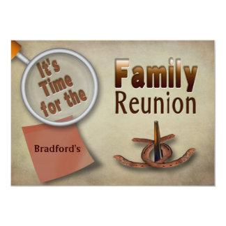 INVITACIÓN DE LA REUNIÓN DE FAMILIA - BROWN -
