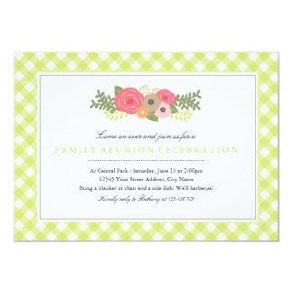 Invitación de la reunión de familia del jardín