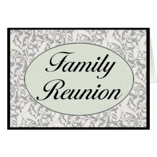 Invitación de la reunión de familia tarjetas