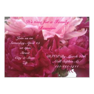 Invitación de la reunión de la primavera y de