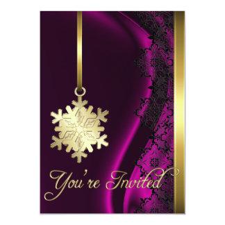 Invitación de la seda del rosa de la decoración