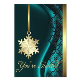 Invitación de la seda del trullo de la decoración invitación 12,7 x 17,8 cm