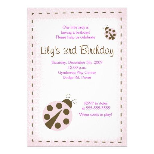 Invitación de la señora cumpleaños de la MARIQUITA