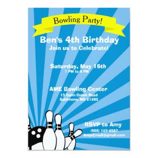 Invitación de la tarjeta de cumpleaños de los