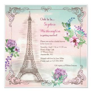 Invitación de las memorias de París