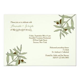 Invitación de las ramas de olivo