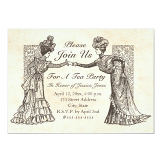 Invitación de las señoras del Victorian