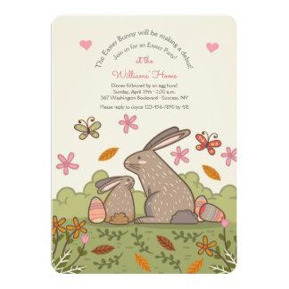 Invitación de los conejitos de Brown