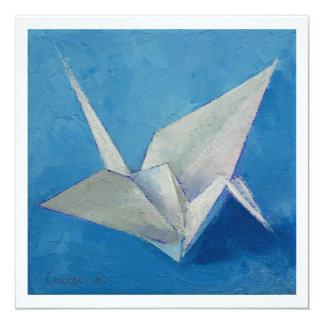 Invitación de Origami Invitación 13,3 Cm X 13,3cm