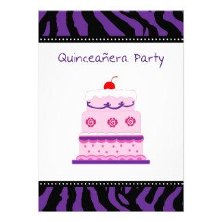 Invitación de Quinceanera