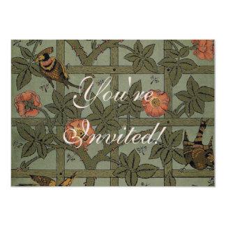 Invitación de William Morris