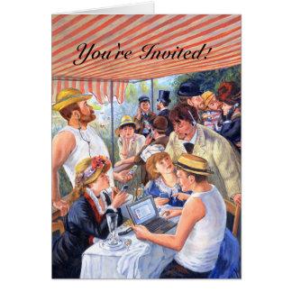 Invitación del alumerzo 2,0/de Renoir