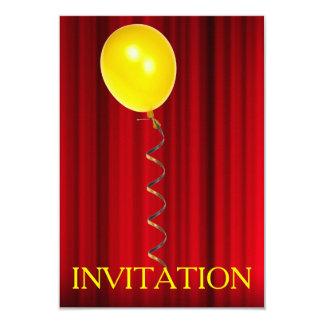 Invitación del aniversario de la sorpresa del