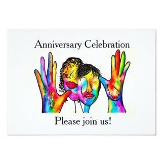 Invitación del aniversario del ASL para los padres