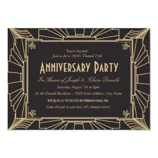 Crea tus propias invitaciones de aniversario y personalízalas con tus colores, diseños y estilos favoritos.