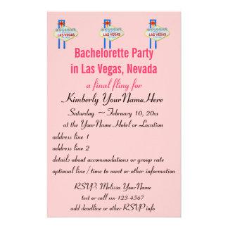 Invitación del aviador del fiesta de Las Vegas Bac Papelería Personalizada