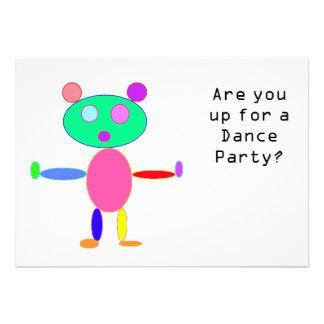 Invitación del baile