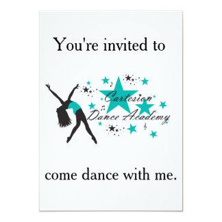 Invitación del baile de Cartesion