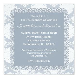 Invitación del bautismo/del bautizo para el