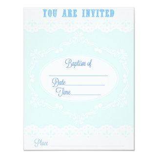 Invitación del bautismo para un muchacho