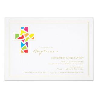 Invitación del bautizo del bautismo el |