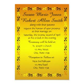 Invitación del boda