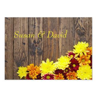 Invitación del boda--Boda del otoño