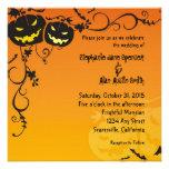 Invitación del boda de Halloween