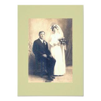 Invitación del boda de Hedgewig Invitación 11,4 X 15,8 Cm
