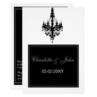 Invitación del boda de la lámpara