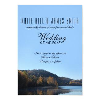 Invitación del boda de la naturaleza