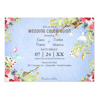 Invitación del boda de la primavera de la acuarela