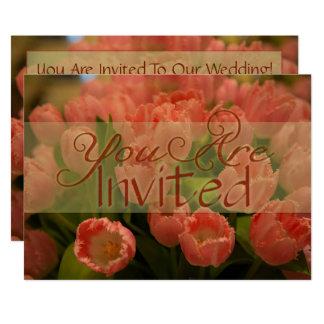 Invitación del boda de la primavera de los