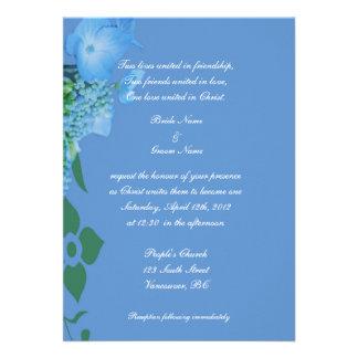 invitación del boda de la religión