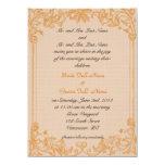 Invitación del boda de los padres de novia y del