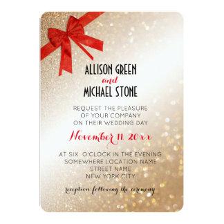 Invitación del boda del estilo elegante