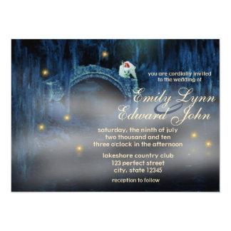 Invitación del boda del Redhead de la dicha del Invitación 13,9 X 19,0 Cm