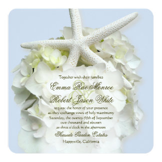 Invitación del boda del verano del cuadrado del