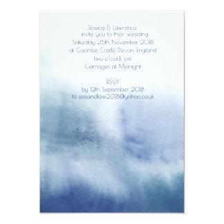 Invitación del boda del Watercolour